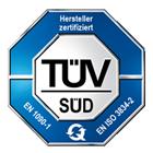 R und W Rohrtechnik TÜV Zertifikat